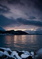 Winter sunset by willyandre