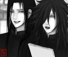 Madara Hashirama - RP -  Blind by PhonyProphet