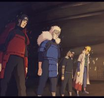 Previous Hokage Edo Tensei by HulfBlood