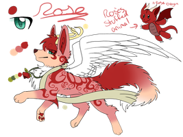 [Custom for Fucal] Rose the peaceful Dreamer by Unbeatablemeghan13