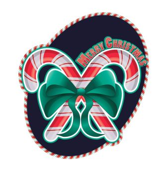 Candy Cane Sticker by Mere771