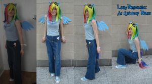Rainbow Dash Cosplay -MLP FIM by LadyDraconic