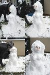 snow woman by aoife-fionn