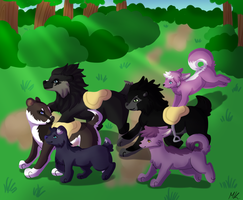 RoF: Through the forest by Lizzara