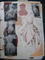 White Project Sketchbook 5 by happyhippybassist