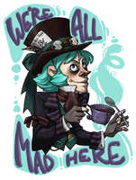 MAD AS A HATTER by AgentDax