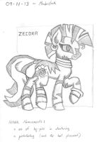 2013-09-11-Zecora, Attempt 01 by Valorcrow