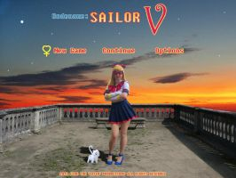 Sailor V Title Screen by DoctorEvil06