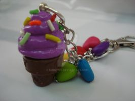 Ice cream charm by Candy27