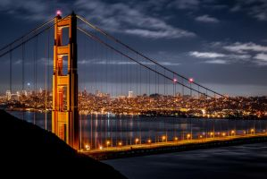 San Francisco, stand of art by alierturk