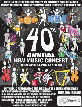 40th Annual New Music Concert 2017 (in color) by elderwyrm