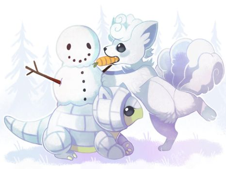 Do You Want to Build a Snowmaaan by FletchFox