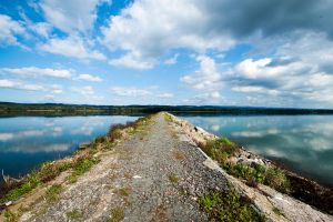 Water reservoir Rozkos by spamikcz