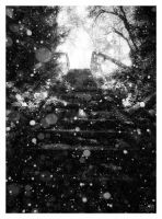 Stairway to Snowfall by wchild