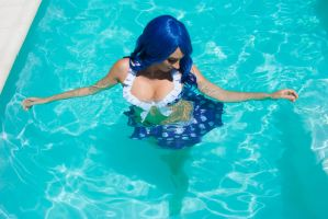 Juvia Loxar Swimsuit cosplay by NiliaStyle