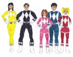 Power Rangers by Zoe-the-Pink-Ranger