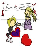 FMA - Happy Valentines by Painted-ghost