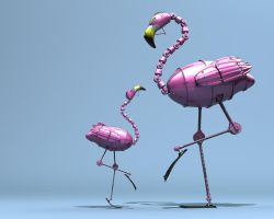 flamingo.004 by Matt-Mills