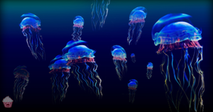 The Adventure Of Jellyfish's by ArtificialCupcake