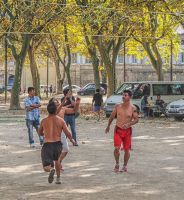 Volleyball. Beaucaire. France by jennystokes