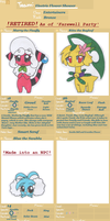 Poke-Heroes_Team Electric Flower Shower App by SapphireMiuJewel
