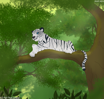 White king of the Jungle - trade by M-WingedLioness