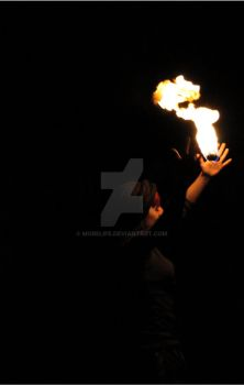 The fire by MoreLife