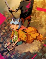tekkonkinkreet - children of the skies by tribblenuu