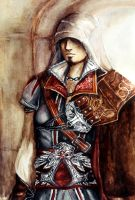 Ezio Auditore by Soul--Dragon
