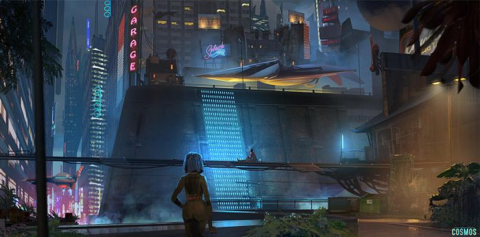 Cosmos - Rooftops by ned-rogers