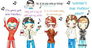 SUPERNATURAL: THRIFT SHOP!? by ChibiVillage