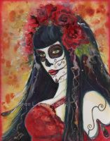 kATIANA Day of the Dead by Fairylover17