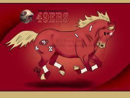 Linebacker Pony v2 by idlewild202