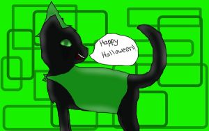 Hollyleaf's Halloween (CE) by ask-power-of-four