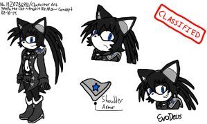Project Re:Mix Character Art - Stella the Cat by EvoDeus