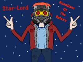 Star-lord (favorite comic book hero) by Ethantaylor2006