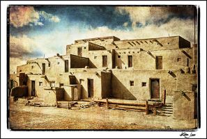 Taos Pueblo, NM by kimjew
