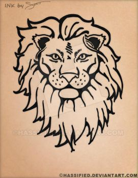 Lion Tattoo by hassified