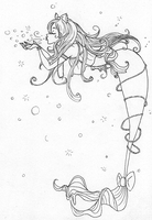 Sweet Lolita Mermaid by SilverTallest