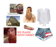 Six Flags With Harry by curlymonster14