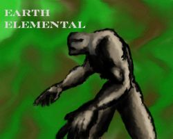 Earth Elemental by MikeErty