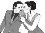 OTP Challenge Day 13: Eating ice cream by muffinpoodle