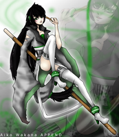 Aiko Wakana ACT 2 and APPEND- Offical Design by WhiteTiger9000