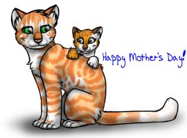 Happy Mother's Day by InvaderTigerstar