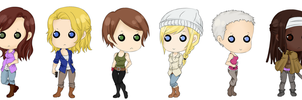 .: Ladies Of TWD :. by ZombiMandi