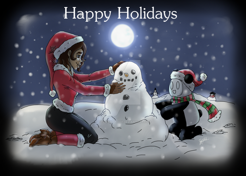 Holidaycard by TAC-Mentality
