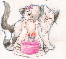 HAPPY BIRTHDAY HARUU :D by ShadowtigerArual
