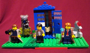 Doctor Who Lego by twasbrillig12