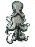 octopus by cosmicDancing
