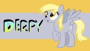 Derpy Hooves Wallpaper by AceofPonies